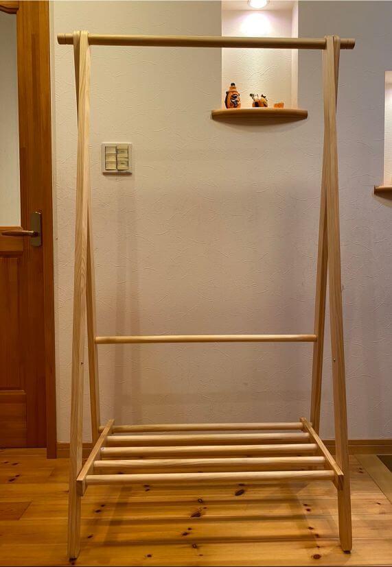 ベルメゾン 木製ハンガーラックの組み立て方と3つの注意点をレビュー!