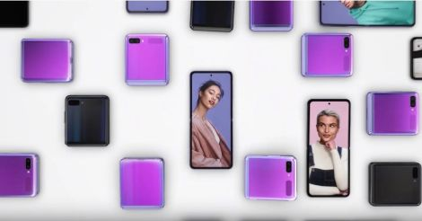 サムスン縦折りスマホの発売はいつ?いくらで買える?Galaxy Z Flip